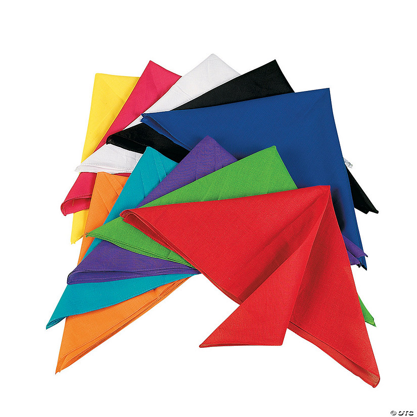 Bulk Bright Bandana Assortment