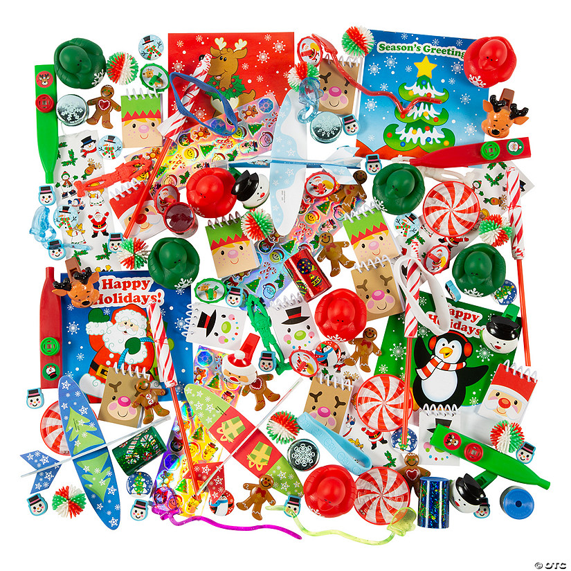 Bulk Christmas Novelty Toy Assortment - 1000 Pc. Audio Thumbnail