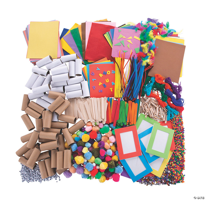 Bulk Colossal Craft Supply Assortment Image Thumbnail