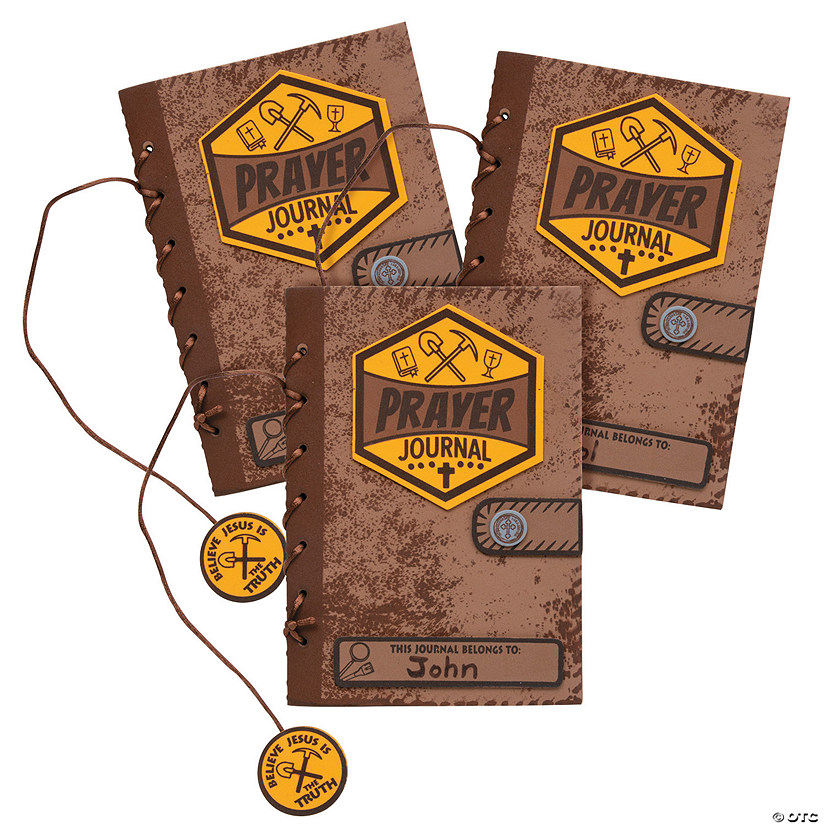 Bulk Dig VBS Prayer Journal Craft Kit Image Thumbnail