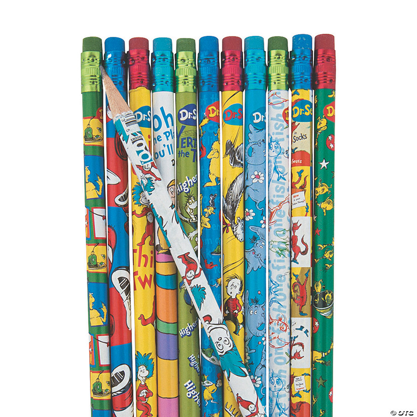 Bulk Dr. Seuss™ Pencils - 72 Pc. Audio Thumbnail