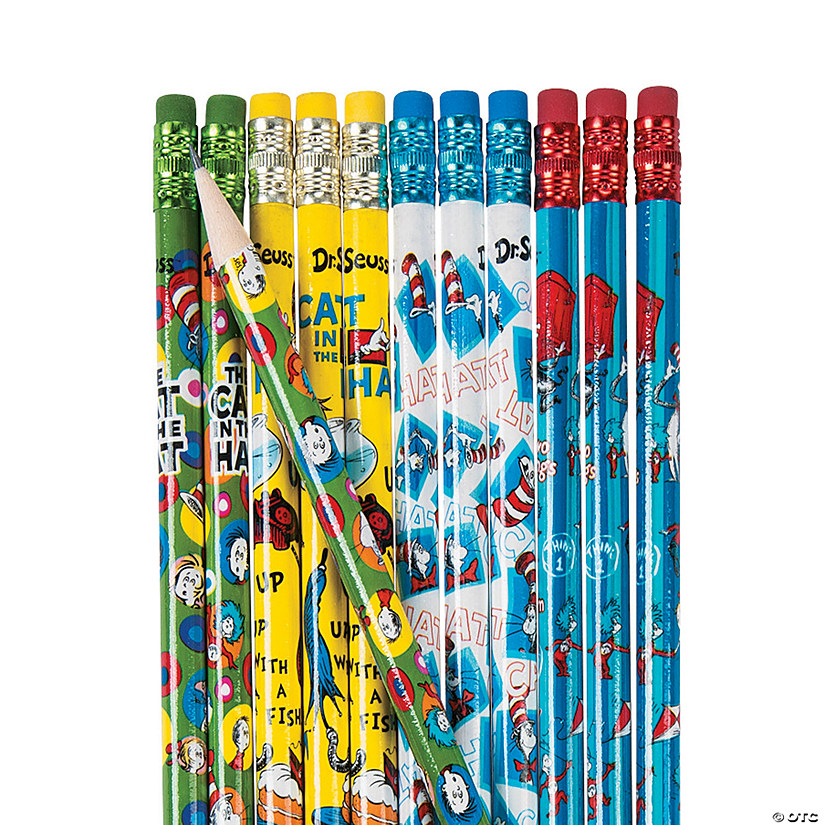 Bulk Dr. Seuss™ The Cat in the Hat™ Pencils - 144 Pc. Audio Thumbnail