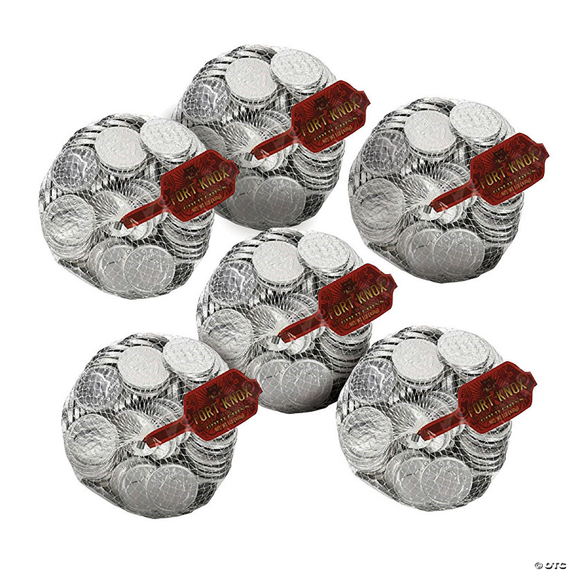Bulk Fort Knox Silver Chocolate Coins - 6 Bags Audio Thumbnail