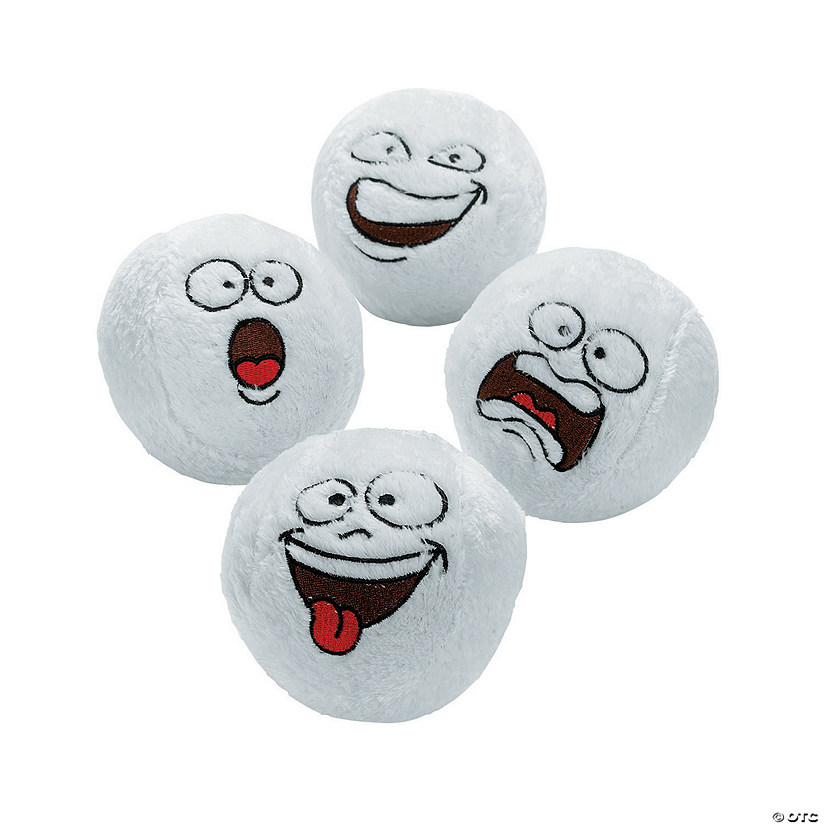 Bulk Funny Face Plush Snowballs Audio Thumbnail