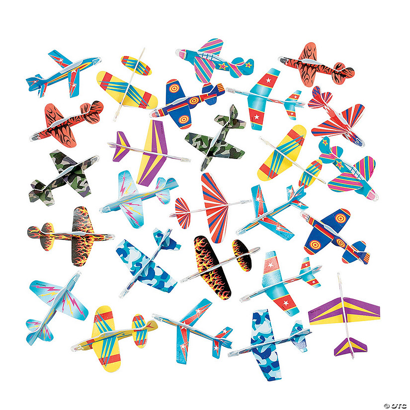 Bulk Glider Assortment - 72 pcs. Image Thumbnail