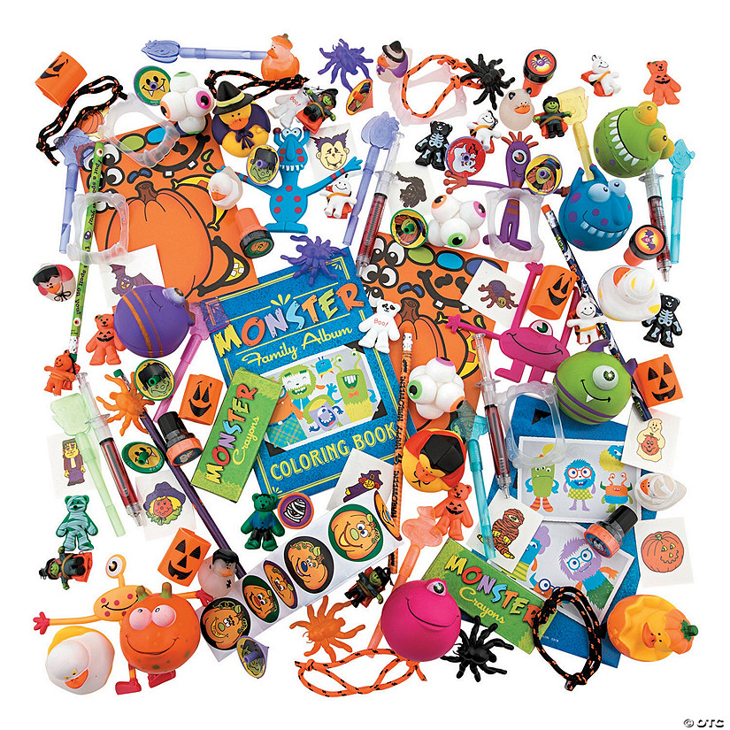 Bulk Halloween Assortment - 500 Pc. Audio Thumbnail