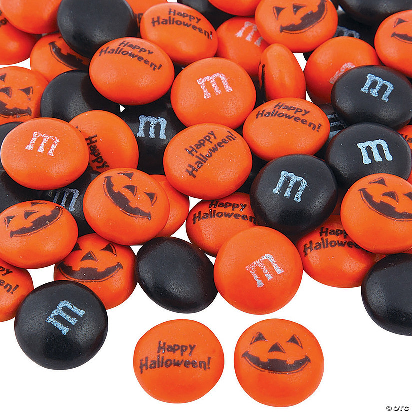 Bulk Halloween Blend M&Ms<sup>&#174; </sup>Chocolate Candies - 1000 Pc. Image Thumbnail