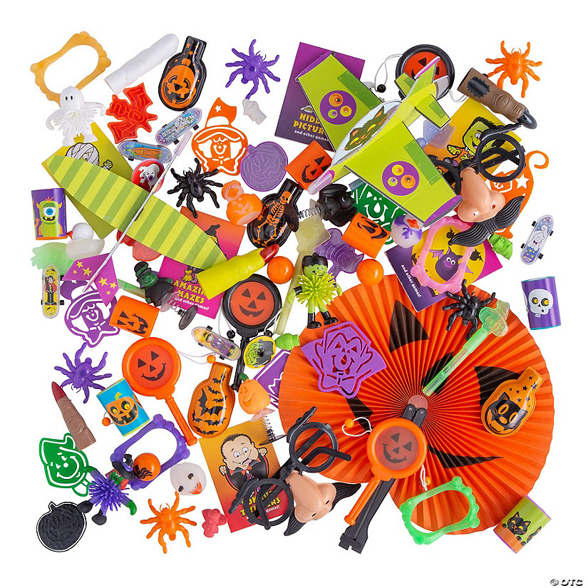 Bulk Halloween Novelty Assortment - 250 Pc. Image Thumbnail