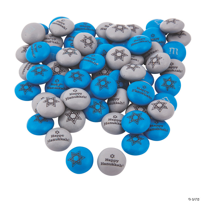 Bulk Hanukkah Blend M&Ms<sup>&#174; </sup>Chocolate Candies Audio Thumbnail