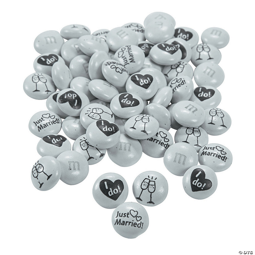 Bulk Just Married M&Ms<sup>&#174;</sup> Chocolate Candies Audio Thumbnail