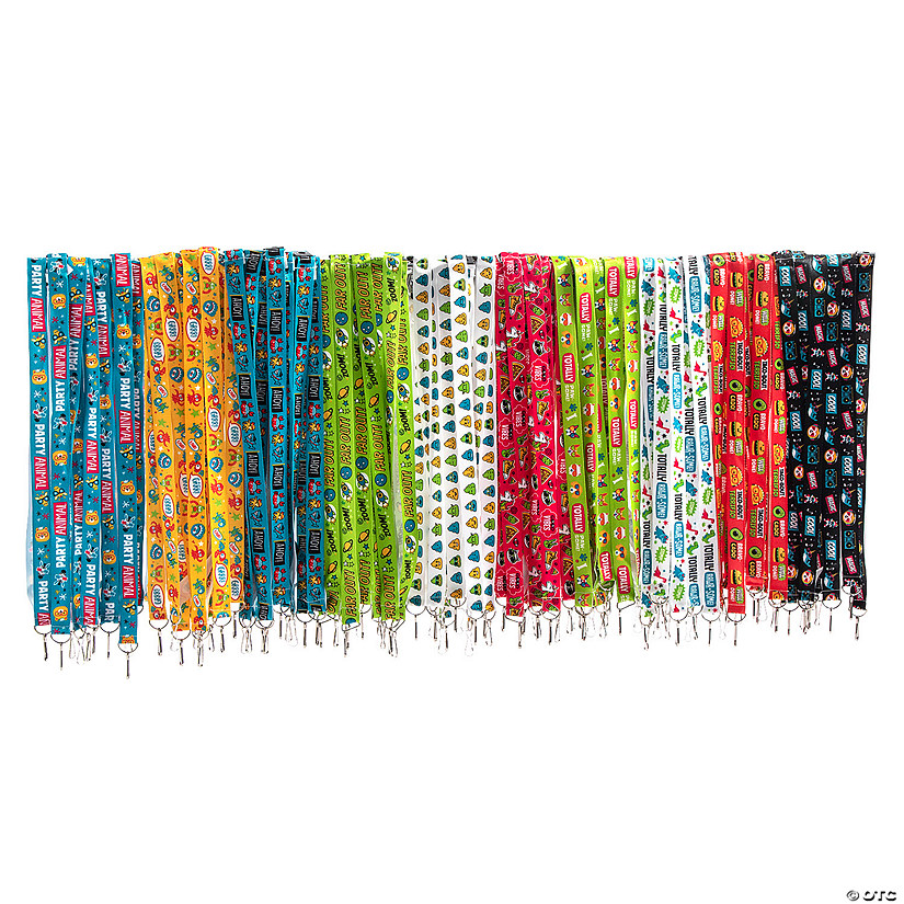 Bulk Lanyard Breakaway Assortment - 100 Pc. Image Thumbnail
