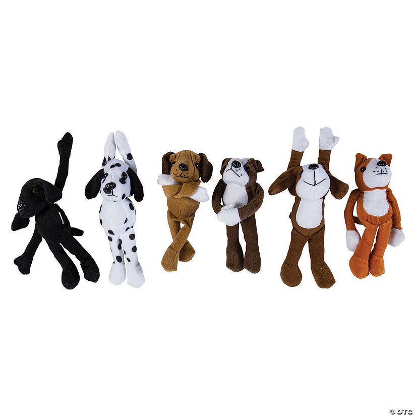 Bulk Long Arm Stuffed Dogs - 72 Pc. Image Thumbnail