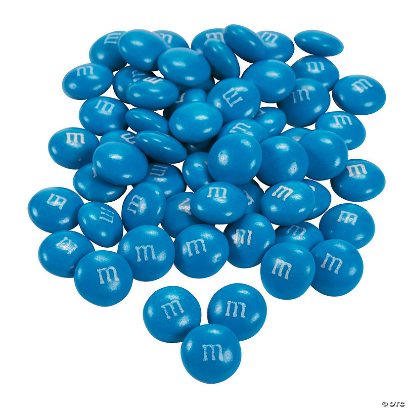 Bulk M&Ms<sup>&#174;</sup> Chocolate Candies - Blue Audio Thumbnail