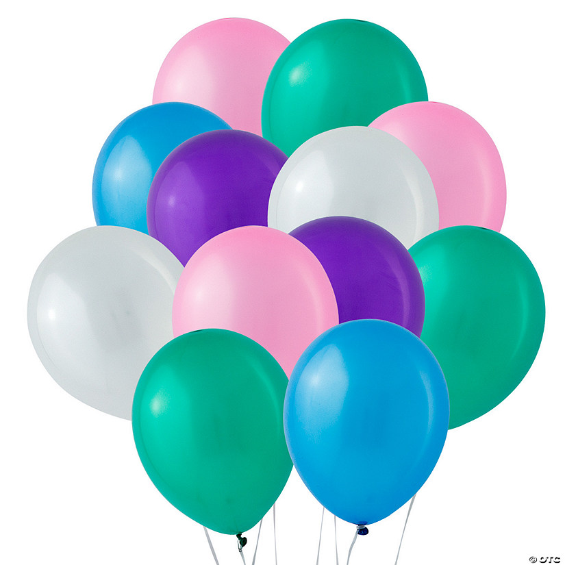 "Bulk Pastel Pearl 11"" Latex Balloons Audio Thumbnail"