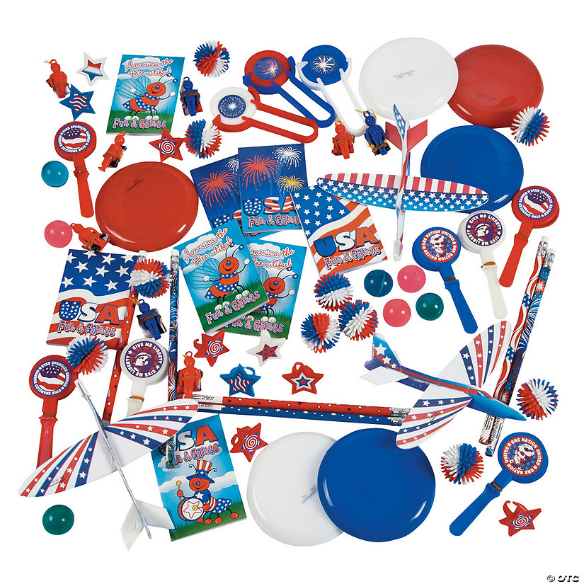 Bulk Patriotic Giveaway Assortment - 500 Pc. Audio Thumbnail