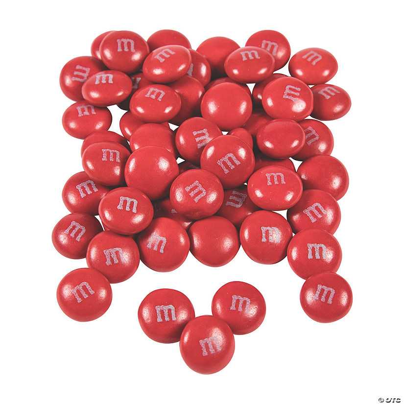 Bulk Red M&Ms<sup>&#174;</sup> Chocolate Candies Image Thumbnail
