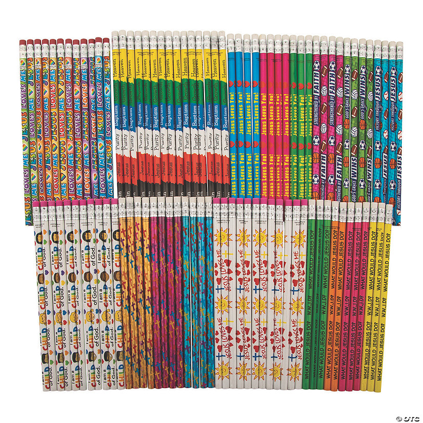 Bulk Religious Pencil Assortment - 100 Pc. Audio Thumbnail