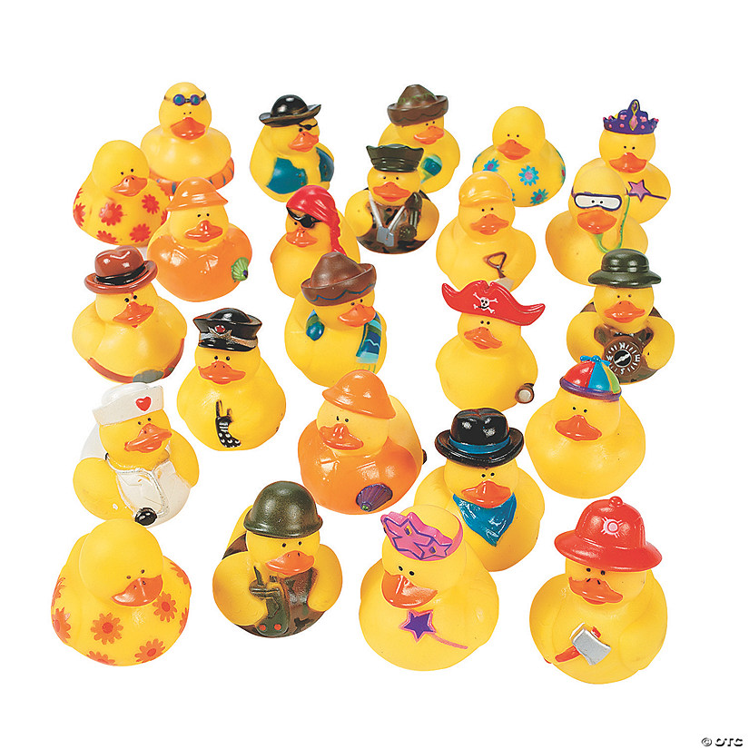Bulk Rubber Ducky Assortment - 100 Pc. Audio Thumbnail