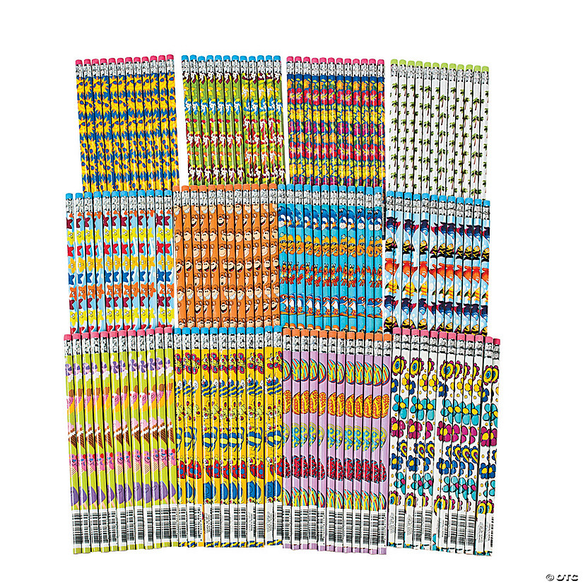 Bulk Spring Pencil Assortment - 144 Pc. Image Thumbnail