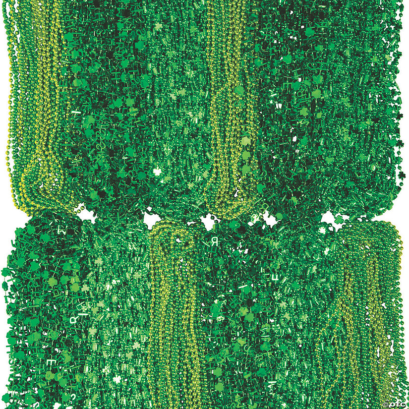 Bulk St. Patrick's Day Beaded Necklace Assortment - 500 Pc. Image Thumbnail