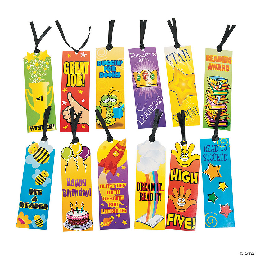 Bulk Student Bookmark Assortment - 144 Pc. Image Thumbnail