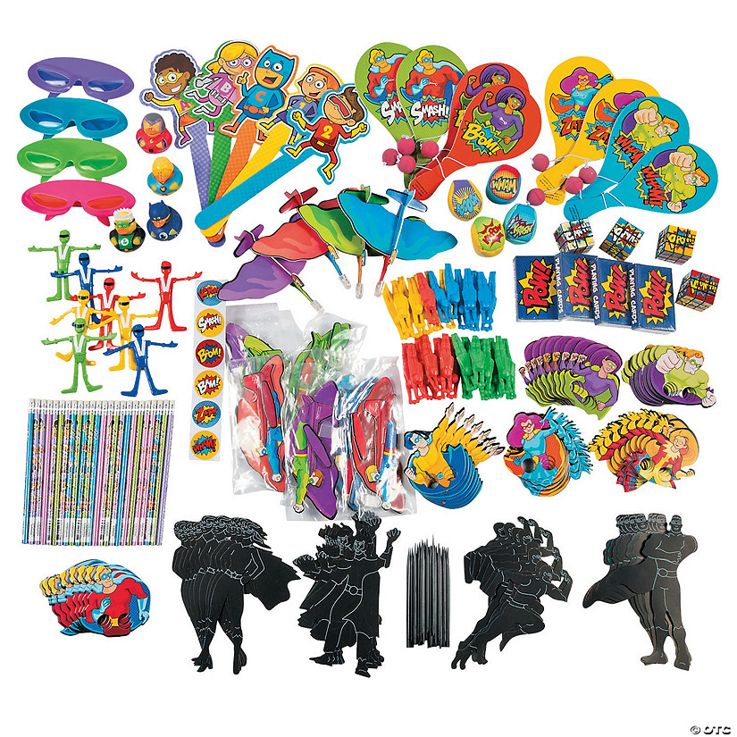 Bulk Superhero Novelty Assortment - 250 Pc. Audio Thumbnail