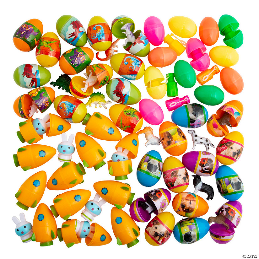 Bulk Toy-Filled Easter Egg Assortment - 504 Pc. Audio Thumbnail