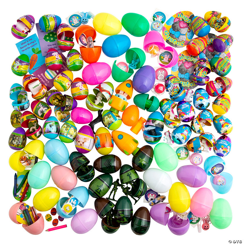 Bulk Toy-Filled Plastic Easter Egg Assortment - 1000 Pc. Audio Thumbnail