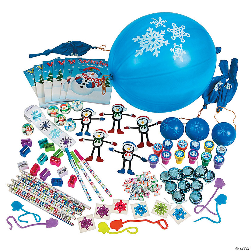 Bulk Winter Toy Assortment - 250 Pc. Audio Thumbnail