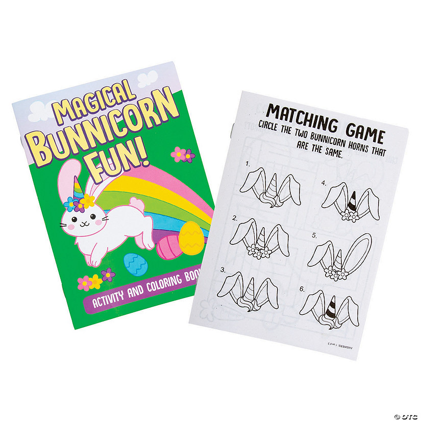 Bunnicorn Activity Books Audio Thumbnail