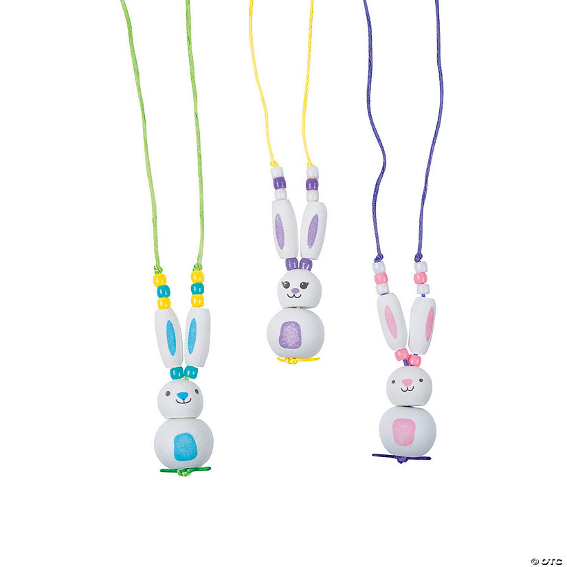 Bunny Necklace Craft Kit Image Thumbnail