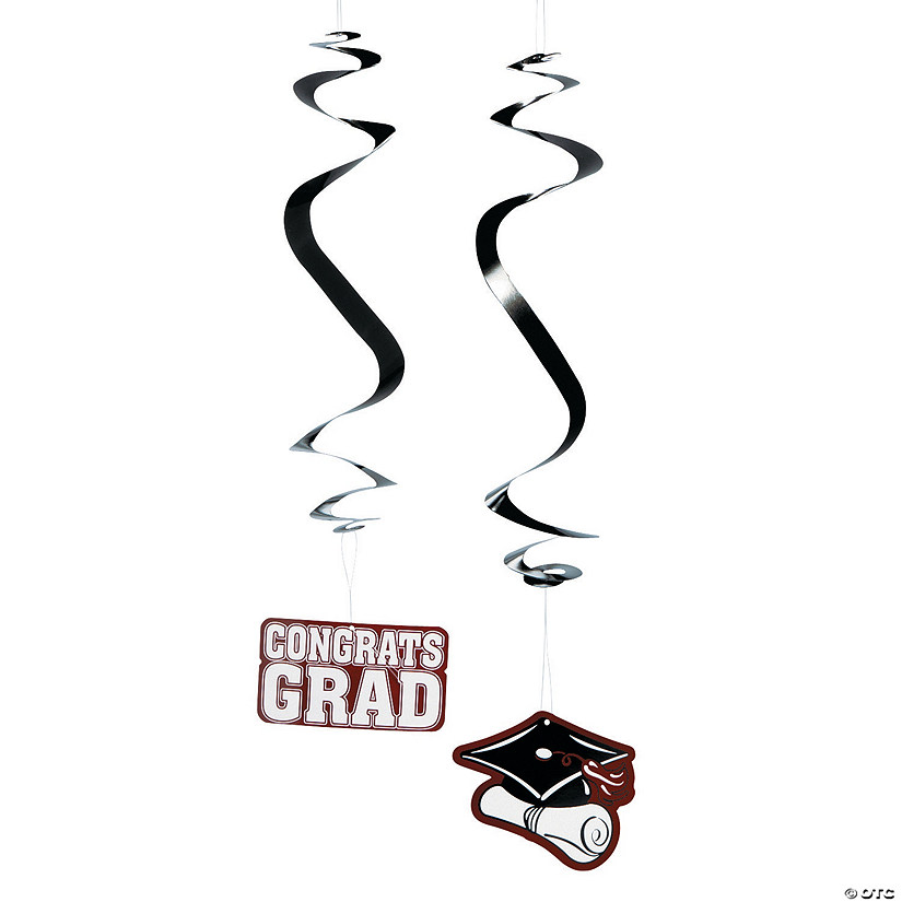 Burgundy Graduation Hanging Swirls Mega Pack Audio Thumbnail