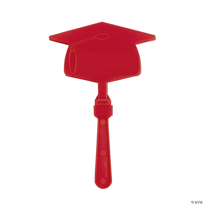 Burgundy Graduation Mortarboard Clappers Audio Thumbnail