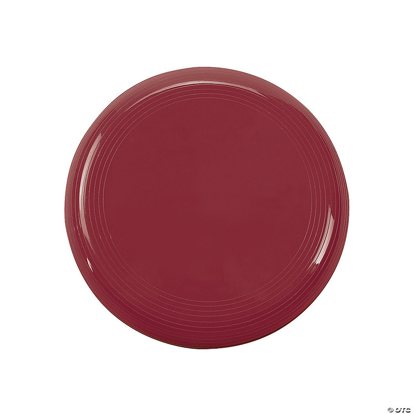 Burgundy Mini Flying Discs Image Thumbnail