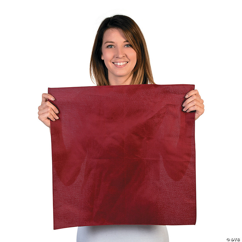 Burgundy Team Spirit Rally Bandanas Audio Thumbnail
