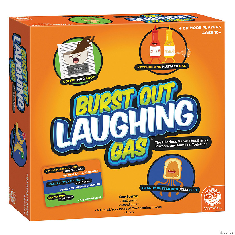 Burst Out Laughing Gas Audio Thumbnail