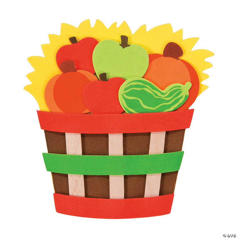 Bushel Basket Magnet Craft Kit
