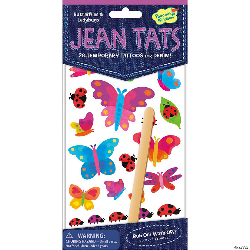 Butterflies & Ladybugs Jean Tats Pack Audio Thumbnail