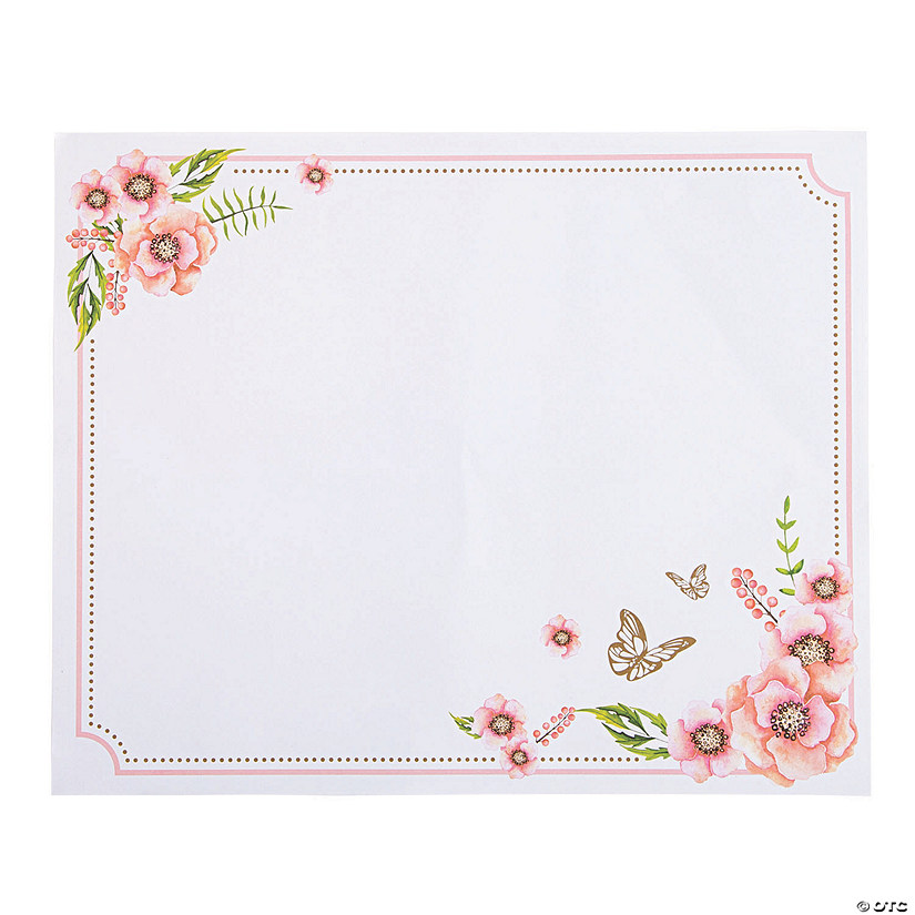 Butterfly Floral Placemats Audio Thumbnail