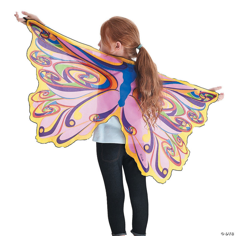 Butterfly Wings: Rainbow