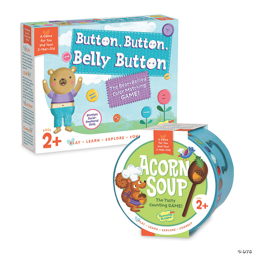Button Button Belly Button and Acorn Soup: Set of 2 Image Thumbnail