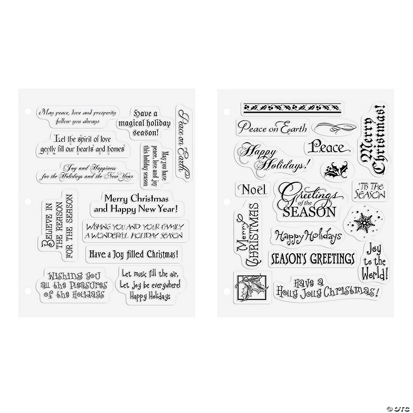 Christmas Card Phrases.Buy Both And Save Christmas Card Stamps Discontinued