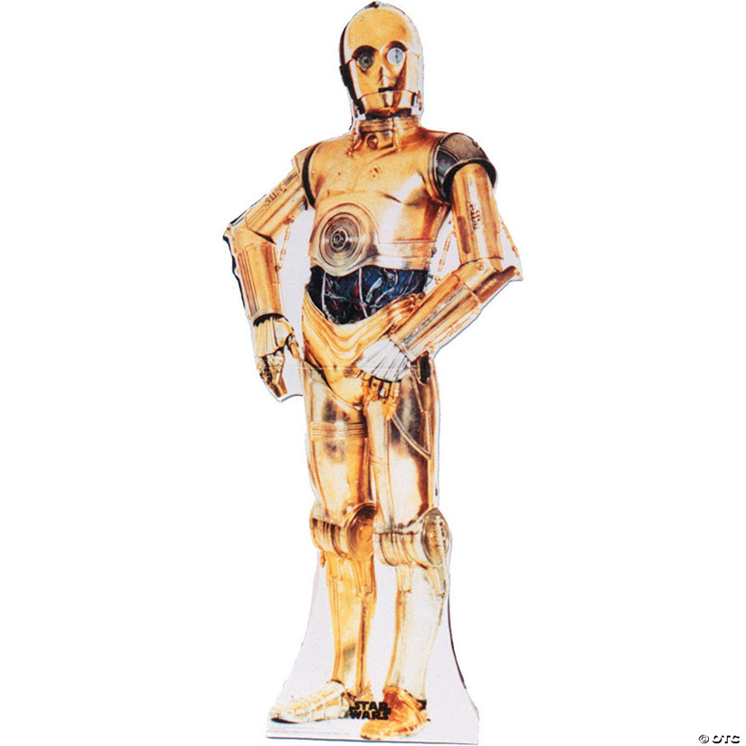 C-3PO Cardboard Stand-Up Audio Thumbnail