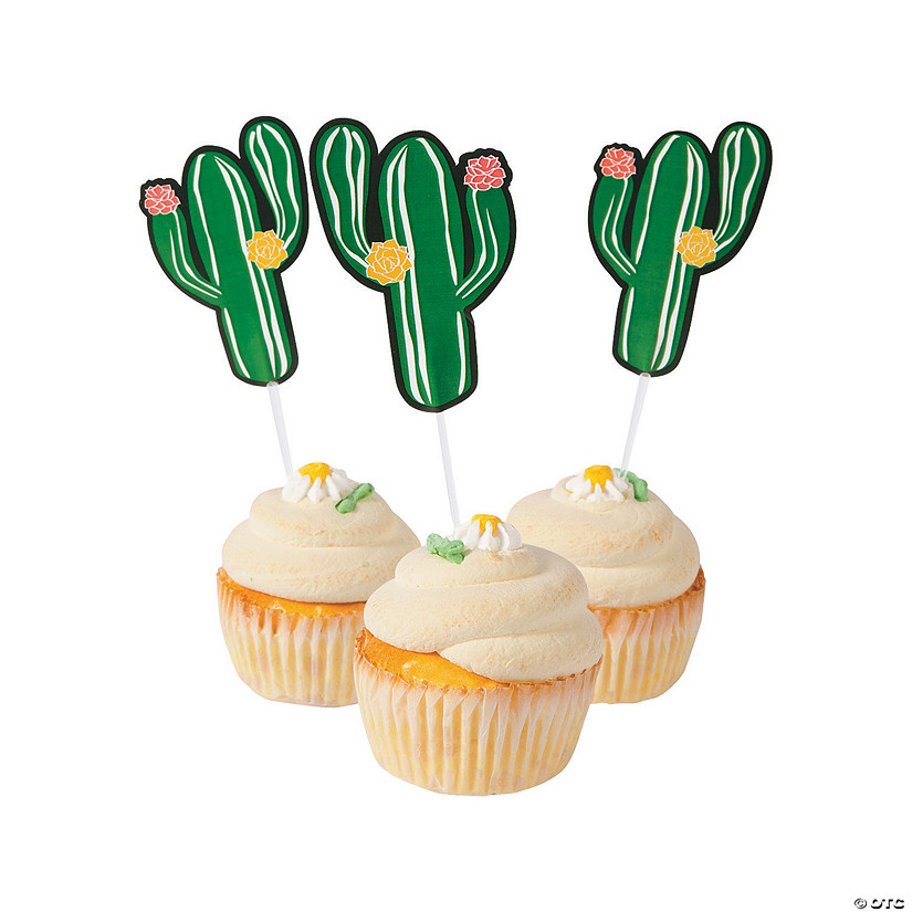 Cactus Party Food Picks Image Thumbnail