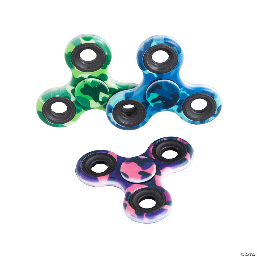 Camo Fidget Spinners Image Thumbnail