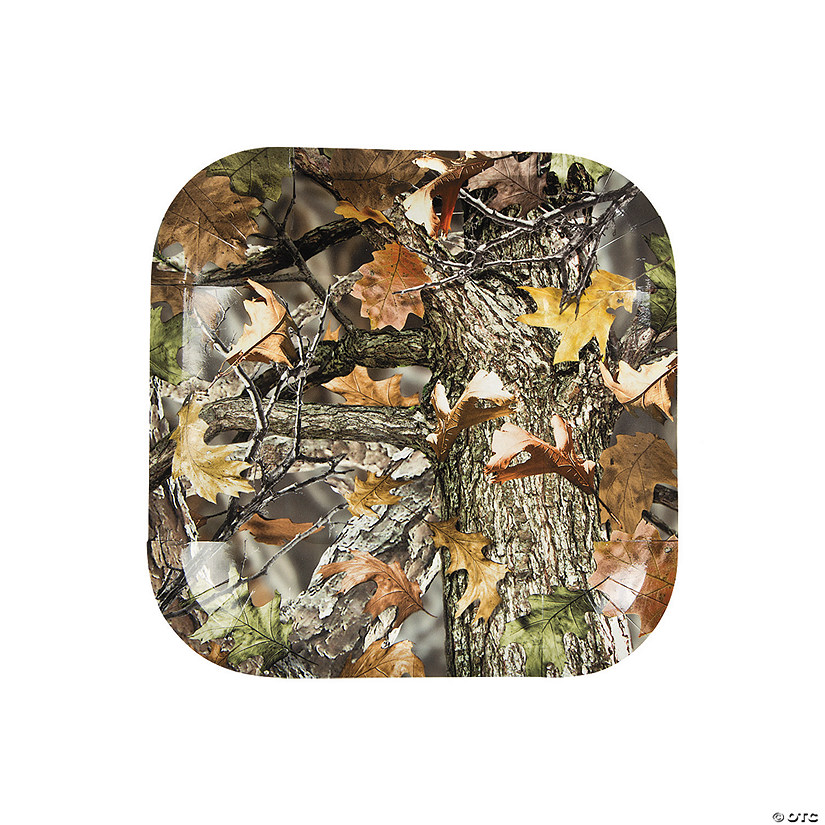 Camouflage Paper Dessert Plates - 25 Ct. Audio Thumbnail