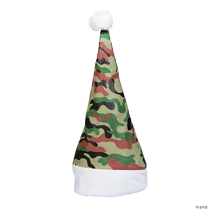 8ca8eb09834c9 Camouflage Santa Hats - Discontinued