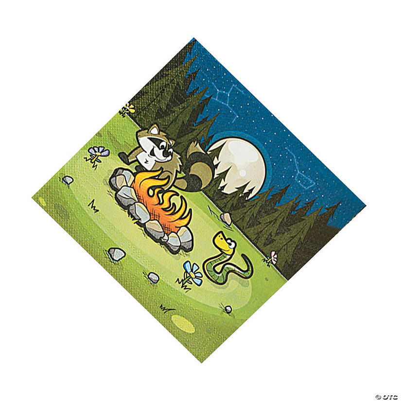 Camp Adventure Luncheon Napkins Audio Thumbnail
