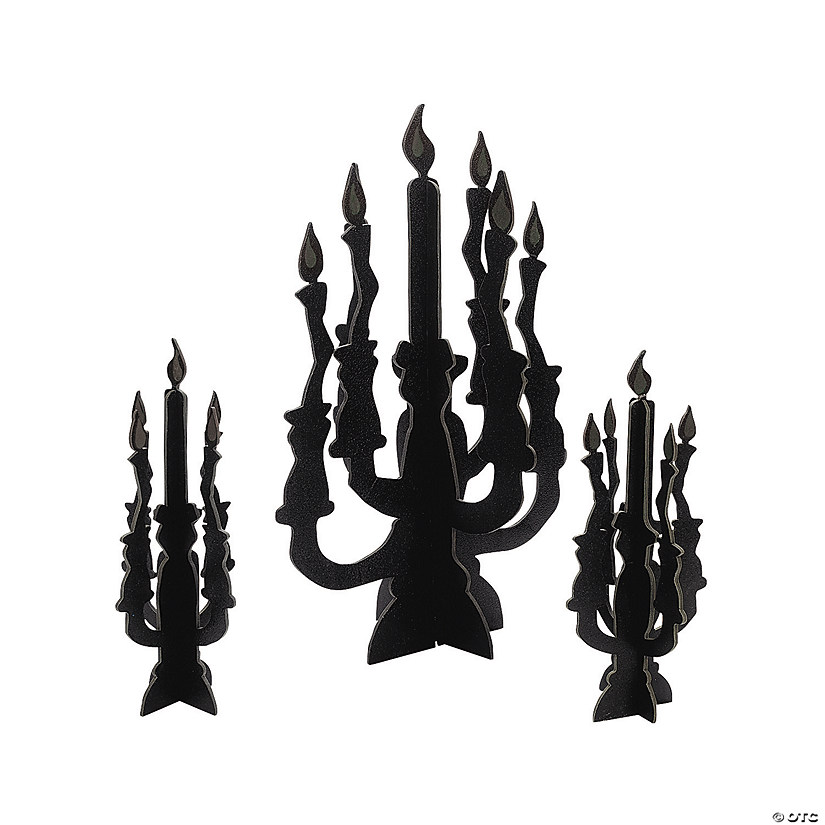 Candelabra Centerpieces with Glow-in-the-Dark Flames Audio Thumbnail
