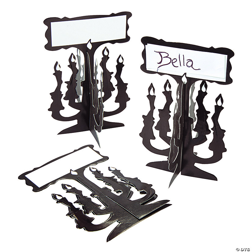 Candelabra Place Cards